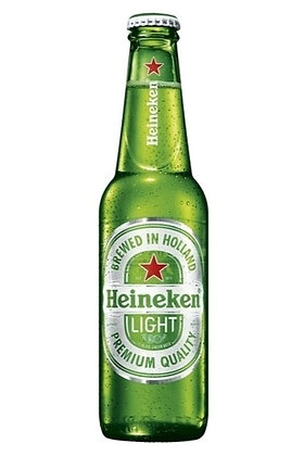 Heineken Light 355ml Bottles in a 6 Pack