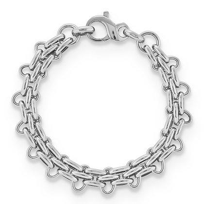 QG Sterling Silver Panther Bracelet