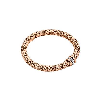 FOPE Love Nest Flex'it bracelet with diamonds