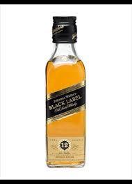 Mini Johnnie Walker Black 50ml