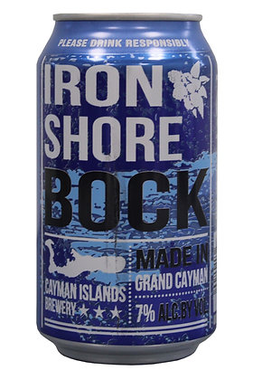 Ironshore Bock Lager 335ml Cans in a 6 Pack