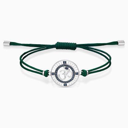 SWAROVSKI  Sand Bracelet, Green, Stainless steel