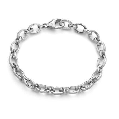 "MONICA RICH KOSANN Audrey"" Link Charm Bracelet in Sterling Silver"