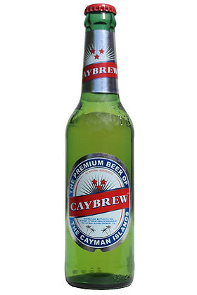 Caybrew Lager 330ml Bottles in a 6 Pack