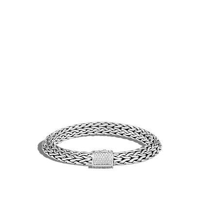 JOHN HARDY Tiga Chain Bracelet with Diamonds