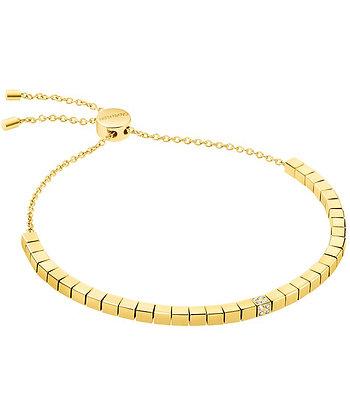 CALVIN KLEIN Tune Stainless Steel Gold Bracelet