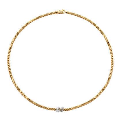 FOPE Prima necklace with diamonds