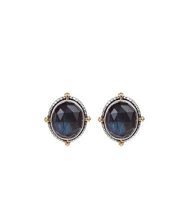 Konstantino Spectrolite Dot Earrings