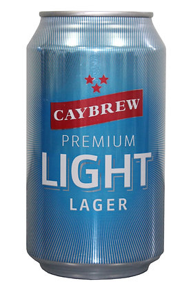 Caylight Lager 335ml Cans in a 6 Pack
