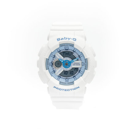 CASIO BABY-G Tandem Series in white and blue