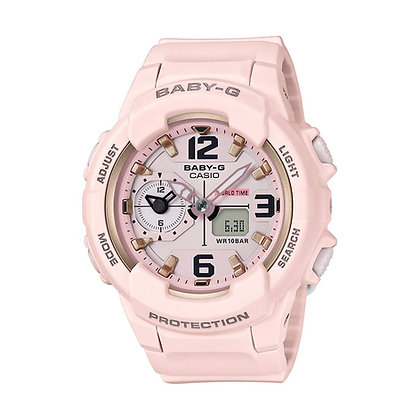 CASIO BABY-G 230 SERIES LIGHT PINK