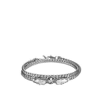 JOHN HARDY Naga Double Wrap Bracelet M