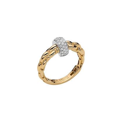 FOPE Eka Anniversario Ring with diamond PAVE