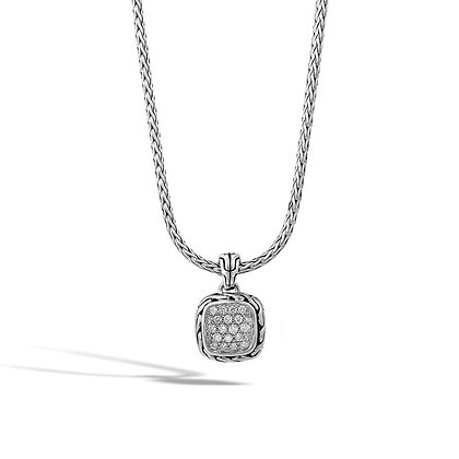 JOHN HARDY Classic Chain Pendant Necklace with Diamonds