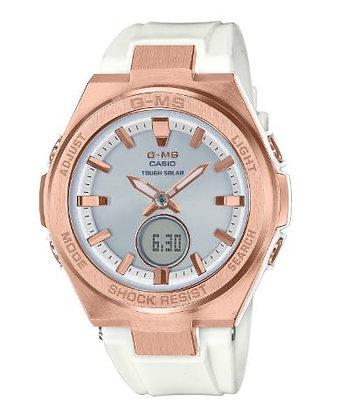 CASIO BABY-G G-MS Watch WHITE/PINK GOLD