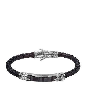 Konstantino Leather Braid Bracelet