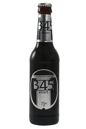 345 Stout 330ml Bottles in a 6 Pack