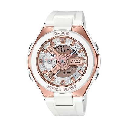CASIO BABY G G-MS WHITE