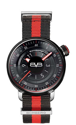 BOMBERG BB-01 Gent Black and Red