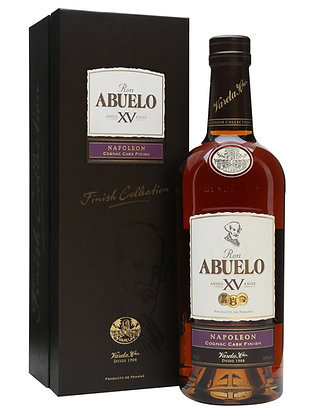 Ron Abuelo XV Napolean Cognac Cask Finish 750ml