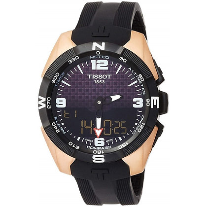 TISSOT T-TOUCH EXPERT SOLAR MEN'S NBA Special Edition Rose Gold