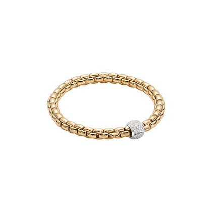 FOPE Eka Flex'it bracelet with diamond PAVE