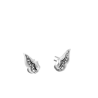 JOHN HARDY Stud Earring with Diamonds