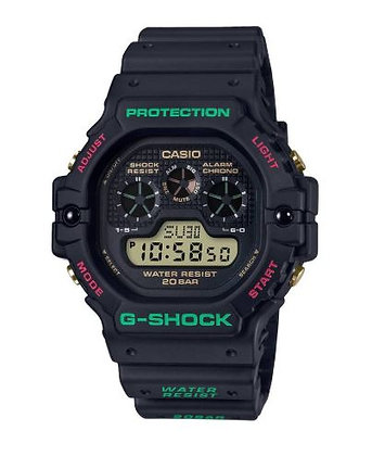CASIO G-SHOCK black Special Colour Models