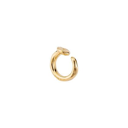 UNOde50 GOLD NAIL RING M