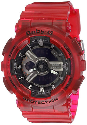 CASIO BABY-G WATCH RED