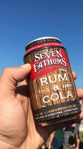 Seven Fathoms Rum & Cola 330ml