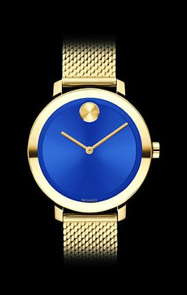 MOVADO Women's Bold Caribbean Exclusive Blue Museum Dial