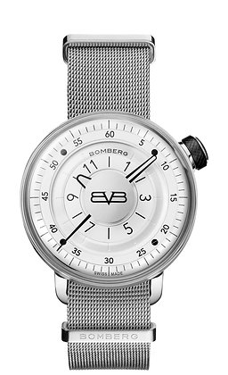 BOMBERG BB-01 Gent Ivory and Silver