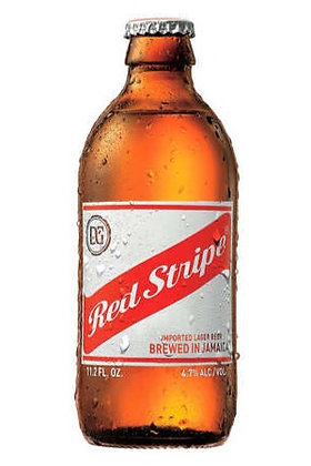 Red Stripe 355ml Bottles in a 24 Pack