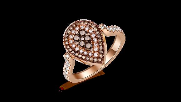 BELLANITA 14K Rose Gold Flip Ring
