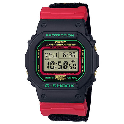 CASIO G-SHOCK RED/BLACK Special Colour Model
