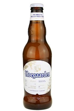 Hoegaarden White 330ml Bottles in a 24 Pack