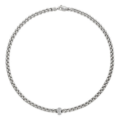 FOPE Eka Necklace with diamond PAVE