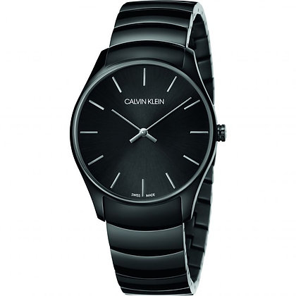 CALVIN KLEIN Watch Classic Too Stainless steel black