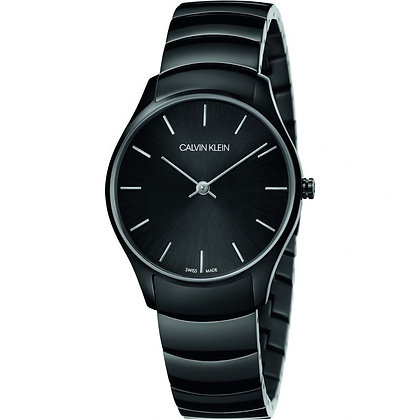 CALVIN KLEIN Ladies Watch Classic Too Stainless steel black