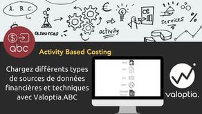 Chargez différents types de sources de données avec Valoptia.ABC