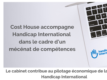 Cost House accompagne Handicap International