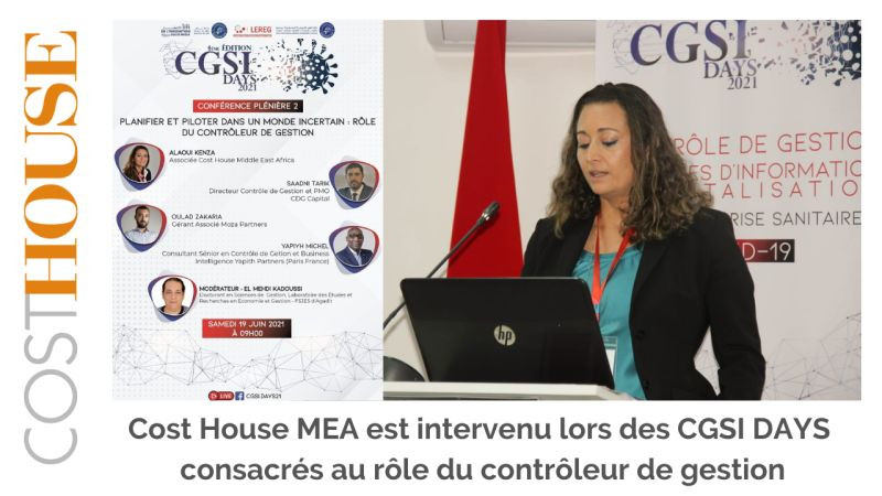 Cost House MEA aux CGSI DAYS