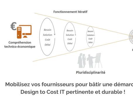 Mobilisez vos fournisseurs pour bâtir une démarche Design to Cost IT pertinente et durable