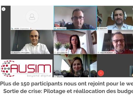"""Participation de Cost House au webinar """"Sortie de crise: Pilotage et réallocation des budgets IT"""""""