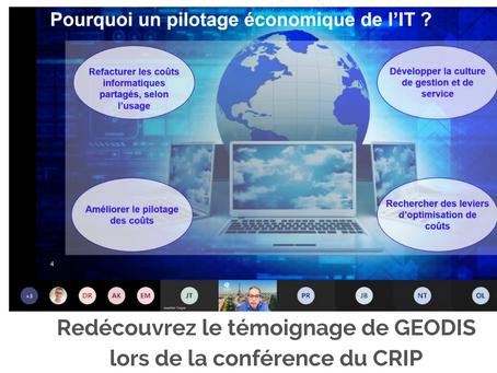 Redécouvrez le témoignage de Geodis lors de la conférence du CRiP