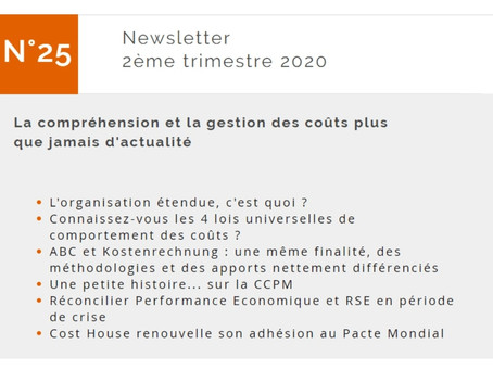 Newsletter 2ème trimestre 2020