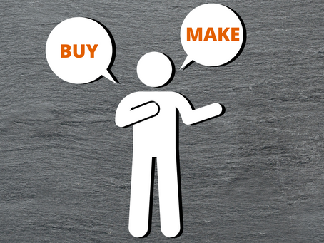Make or Buy, comment éviter les pièges ?