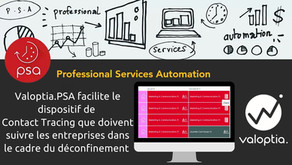 Valoptia.PSA facilite la mise en place du dispositif de Contact Tracing pour les entreprises