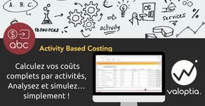 Valoptia.ABC, une solution de calcul des coûts complets et de pilotage par la marge